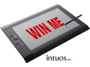 how to win a free wacom tablet