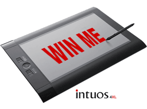Win a Wacom Intuos 4XL Tablet worth over £500